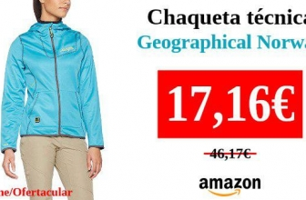 Geographical Norway Taboule Lady Chaqueta t/écnica para Mujer