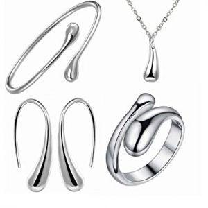 Conjunto joyas de plata