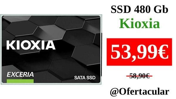 SSD 480Gb Kioxia Exceria
