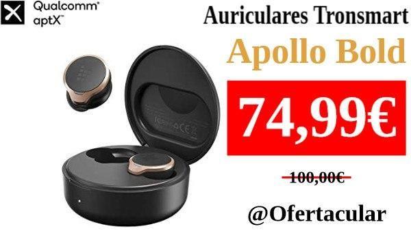 Auriculares Tronsmart Apollo Bold ANC