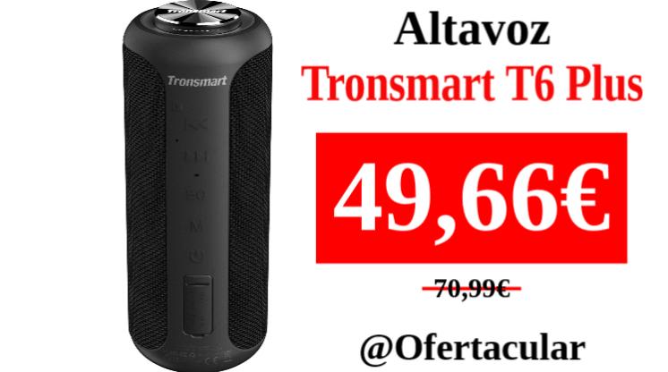 Altavoz Tronsmart T6 Plus
