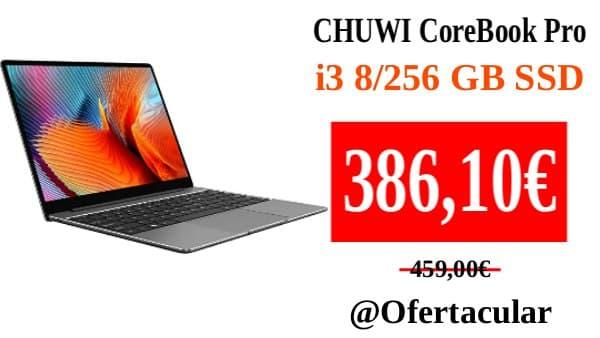 CHUWI CoreBook Pro Laptop i3 8/256Gb SSD