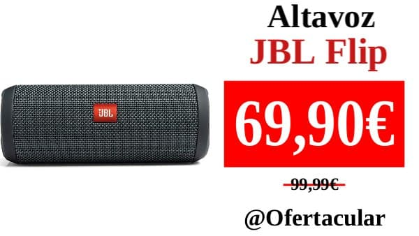 Altavoz JBL Flip IPX7
