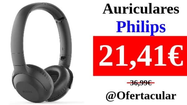 Auriculares Inalámbricos Philips con reducción de ruido