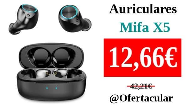 Auriculares estéreo Mifa X5 con cancelación de ruido