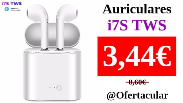 Auriculares i7s Tws inalámbricos