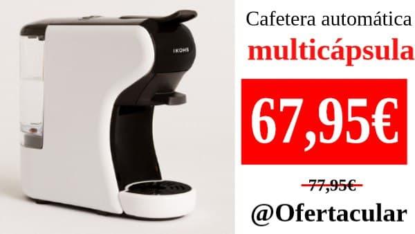 Cafetera Automática Multicápsula y Café Molido