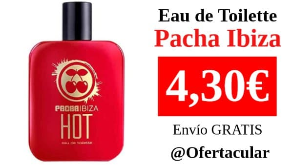 Colonia PACHA Ibiza 50 ml Hot EDT
