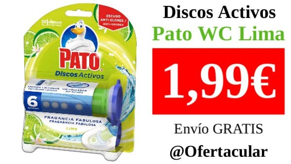Discos Activos Pato WC Lima