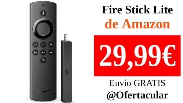 Fire TV Stick Lite con mando por voz Alexa