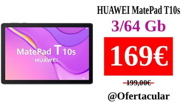 Tablet HUAWEI MatePad T10s 3/64 Gb