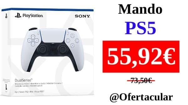 Mando PS5 - Mando inalámbrico DualSense PlayStation 5