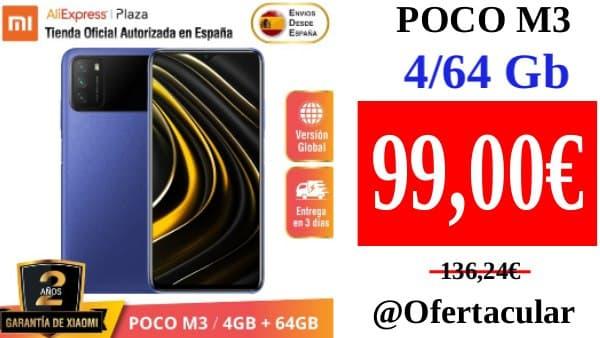 Móvil POCO M3 4/64 Gb