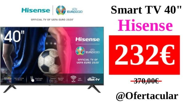 "SmartTV 40"" HISENSE"