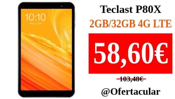Teclast P80X 2GB/32GB 4G LTE