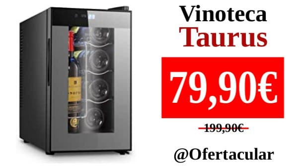 Vinoteca Taurus para 8 botellas