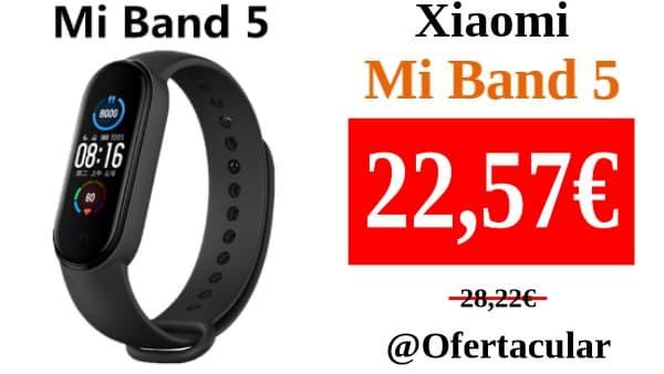 Xiaomi Mi Band 5, reloj inteligente