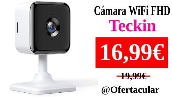 Cámara de Vigilancia WiFi Teckin 1080P FHD