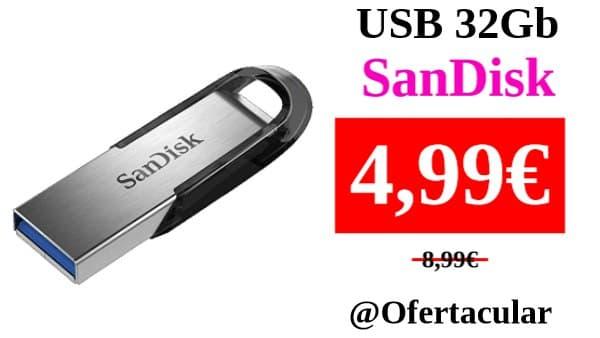 USB 32 GB Sandisk Ultra Flair